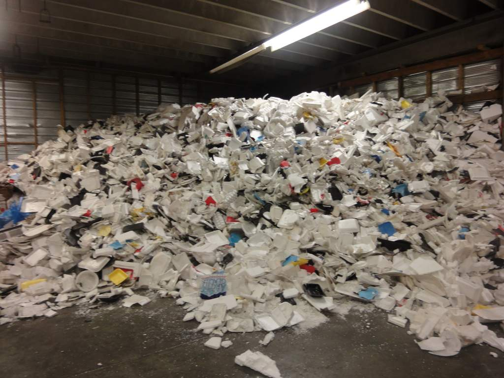 GREENMAX machines can help people take polystyrene foam for
