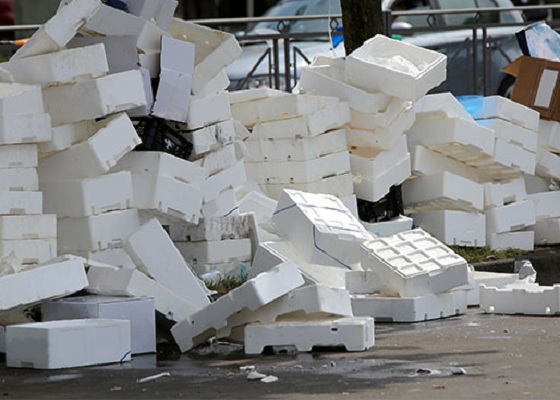Bulky Waste Styrofoam Would Be A Big Problem For City EPS