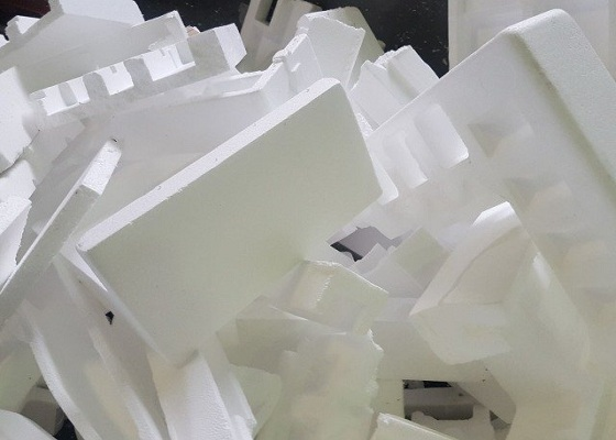 The Discarded Styrofoam Has The Value Of Recycling Intco Eps Recycling Greenmax Compactor Machine
