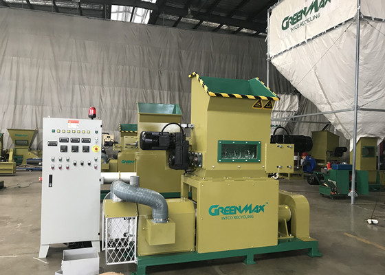 How Does Foam Densifiers Solve The Technical Issues Of Foam Recycling Intco Eps Recycling Greenmax Compactor Machine
